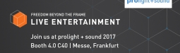 Prolight + Sound 2017